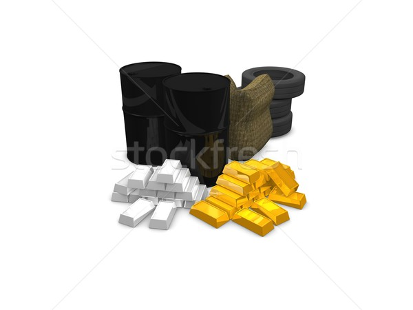 Commodities Stock photo © OneO2