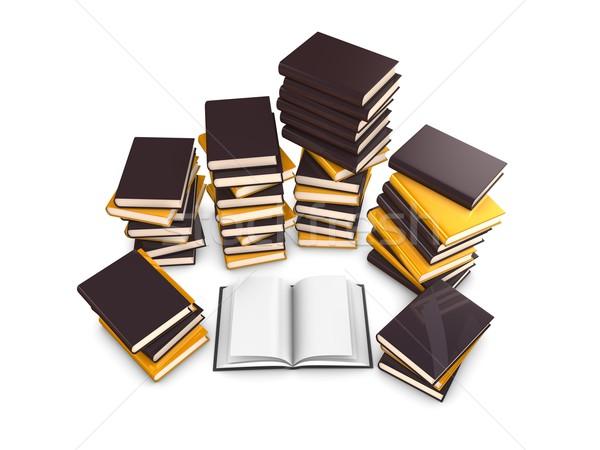 books Stock photo © OneO2
