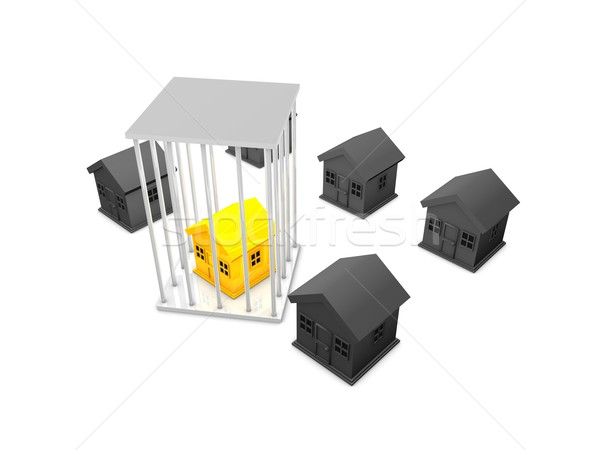 Property foreclosure Stock photo © OneO2