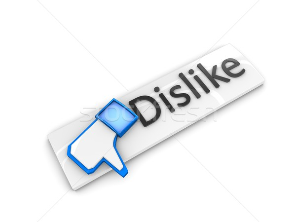 Dislike web button Stock photo © OneO2