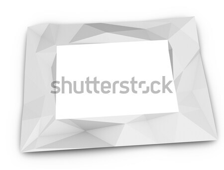 Paper frame Stock photo © OneO2