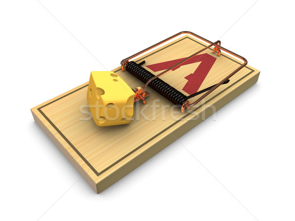 Mouse trap Stock photo © OneO2