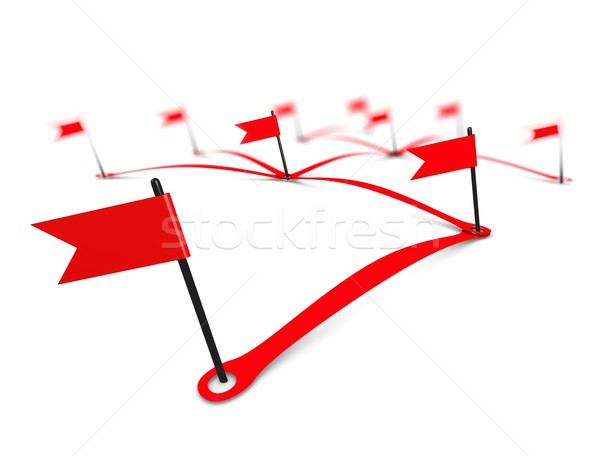 Networking flag Stock photo © OneO2