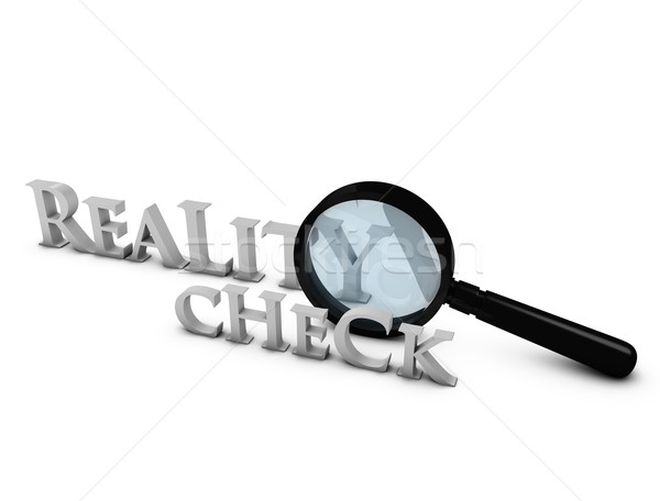 Reality check Stock photo © OneO2
