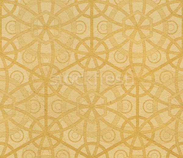Papier geometrisch patroon naadloos achtergrond behang patroon Stockfoto © Onyshchenko