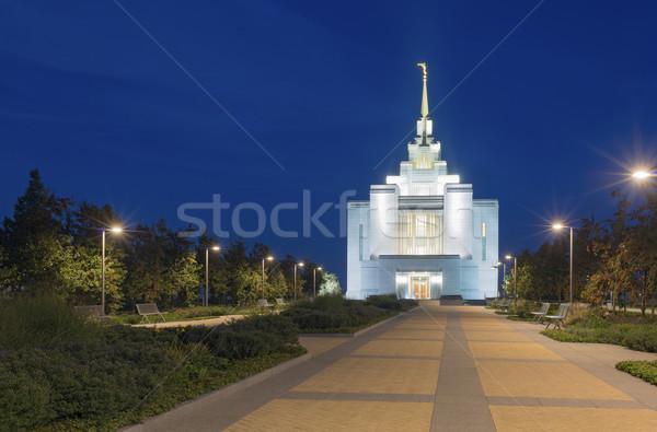 Kerk jesus christ Stockfoto © Onyshchenko