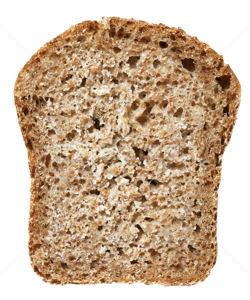 Tarwe brood geïsoleerd witte textuur Stockfoto © Onyshchenko