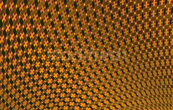 Geometrisch patroon Geel kleuren abstract netwerk net Stockfoto © Onyshchenko