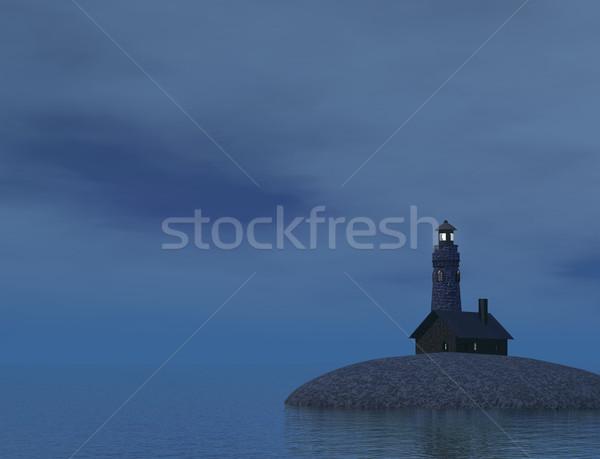Lighthouse Stock photo © Onyshchenko