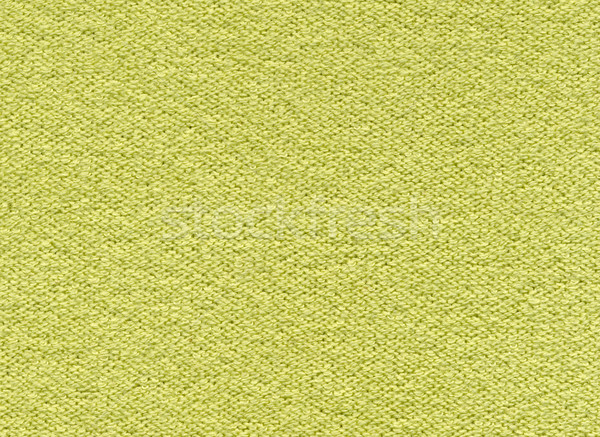 Texture of yellow-green synthetic fabric Stock photo © Onyshchenko