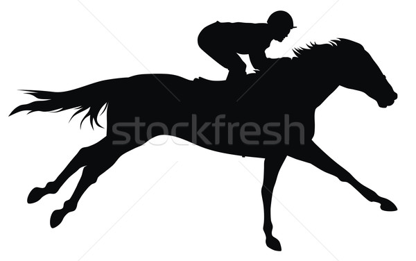 Horse racing Stock photo © oorka