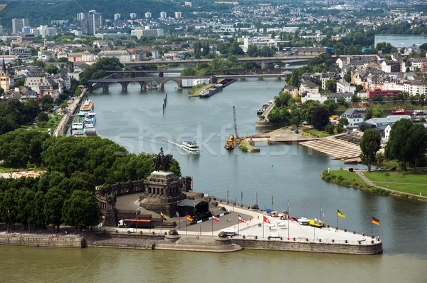 Koblenz Stock photo © oorka