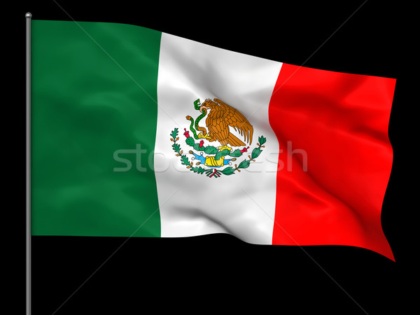 Mexican flag Stock photo © oorka