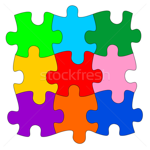 Puzzle Stock photo © oorka