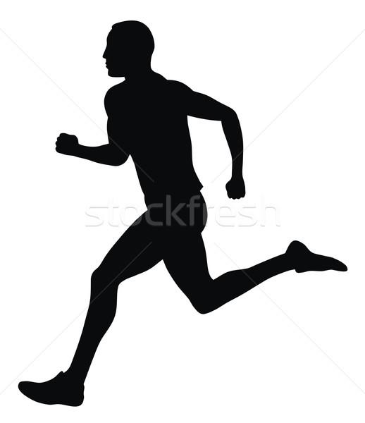 Runner Stock photo © oorka