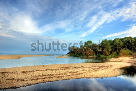 The outfall of Kamchia river Stock photo © oorka