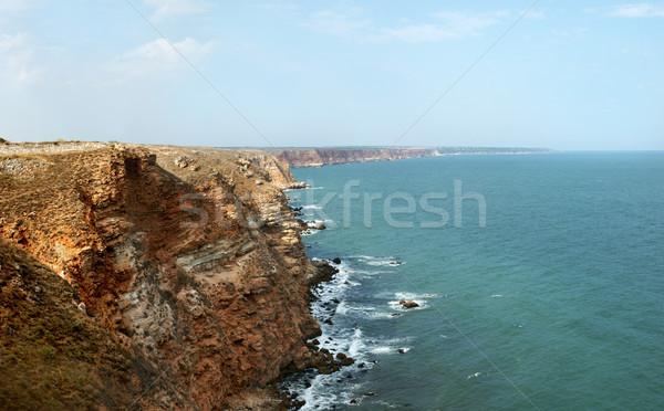 View settentrionale Bulgaria acqua mare spazio Foto d'archivio © oorka