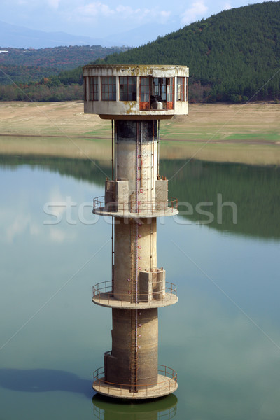 Water intake tower Stock photo © oorka