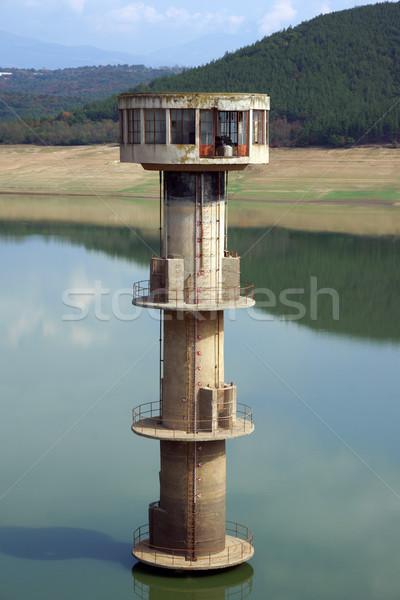 Su kule boş Stok fotoğraf © oorka
