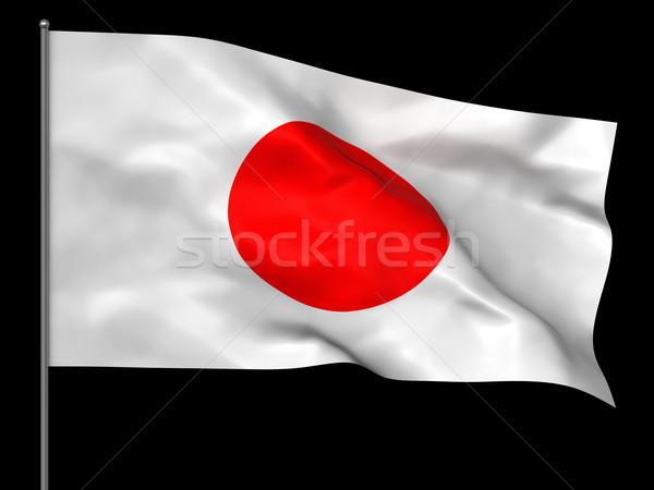 Japanese flag Stock photo © oorka