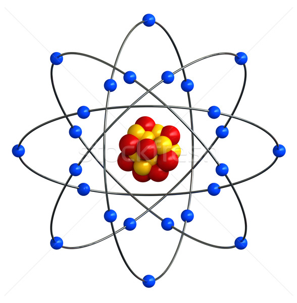 Atomic structure  Stock photo © oorka