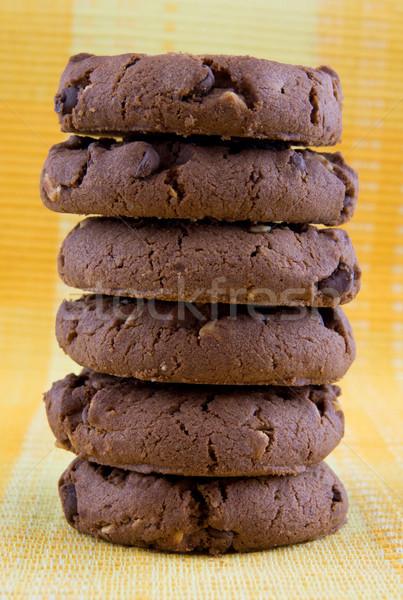 Kekszek házi desszert édes süti sütik Stock fotó © oorka