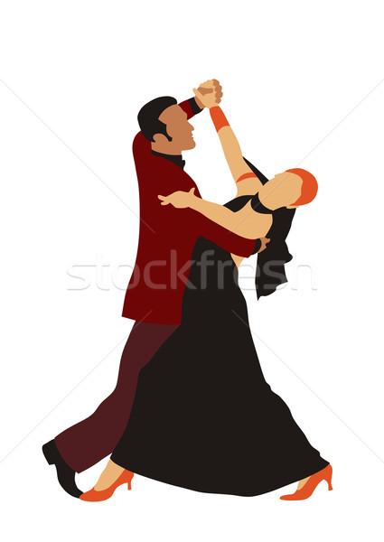 Stock photo: Dancers