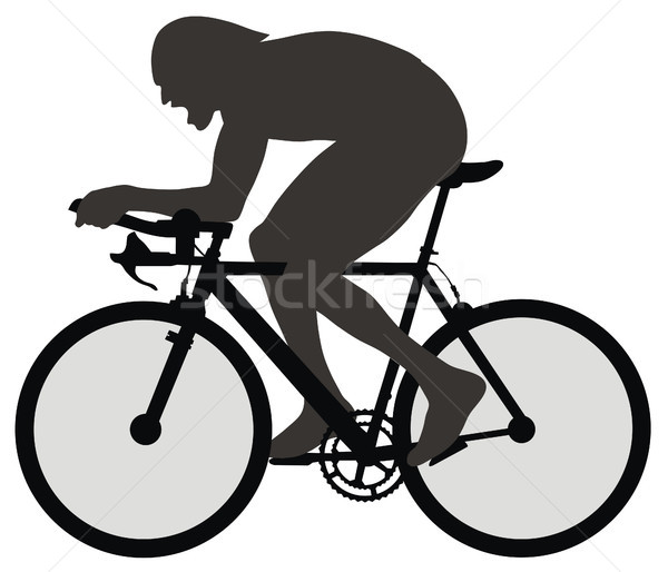 Bicyclist Stock photo © oorka