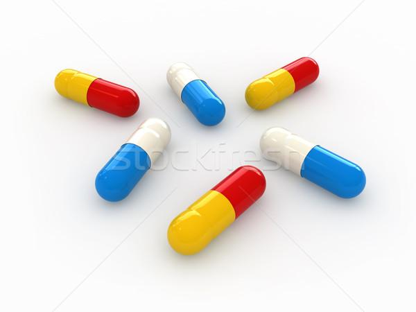 Pill Stock photo © oorka