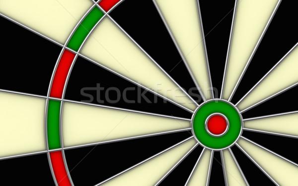 3d render darts boord succes target Stockfoto © oorka