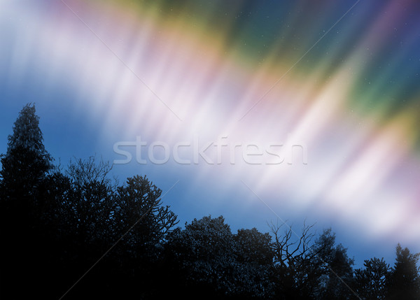 Aurora Borealis Stock photo © oorka