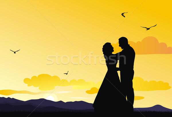 Bridegrooms Stock photo © oorka