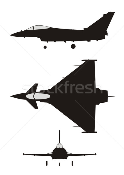 Jet fighter Stock photo © oorka