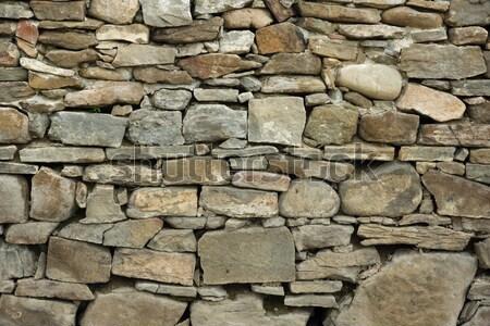 Muro di pietra texture 3D casa pietra pietre Foto d'archivio © oorka
