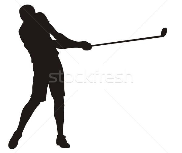 Golfer Stock photo © oorka