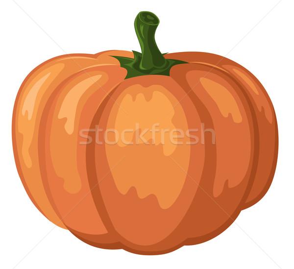 Sütőtök absztrakt halloween tök boldog rajz illusztráció Stock fotó © oorka