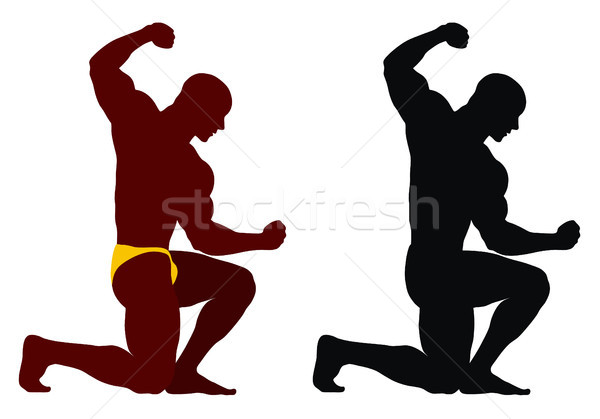 Bodybuilding Stock photo © oorka