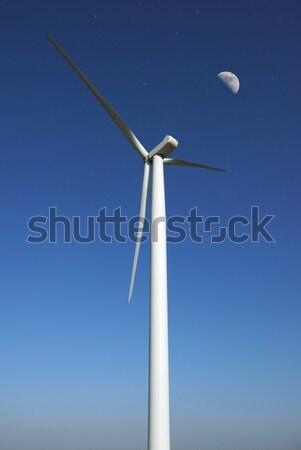 Wind turbine Stock photo © oorka
