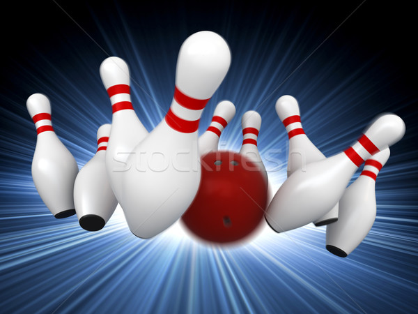 Bowling Stock photo © oorka