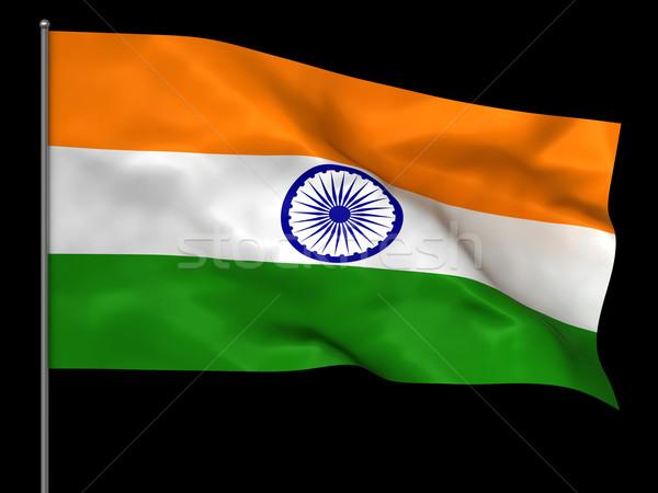 Indian flag Stock photo © oorka