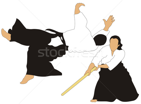 Aikido Stock photo © oorka