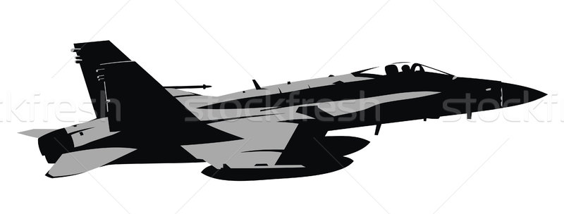 Jet fighter Stock photo © oorka