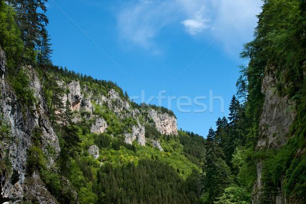 Berg zuidelijk Bulgarije hemel landschap Stockfoto © oorka