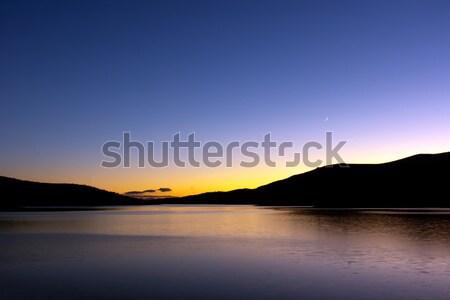Belmeken dam Stock photo © oorka