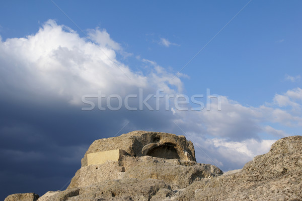 Thracian sanctuary Stock photo © oorka