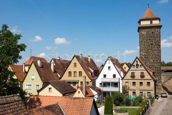 Rothenburg ob der Tauber Stock photo © oorka