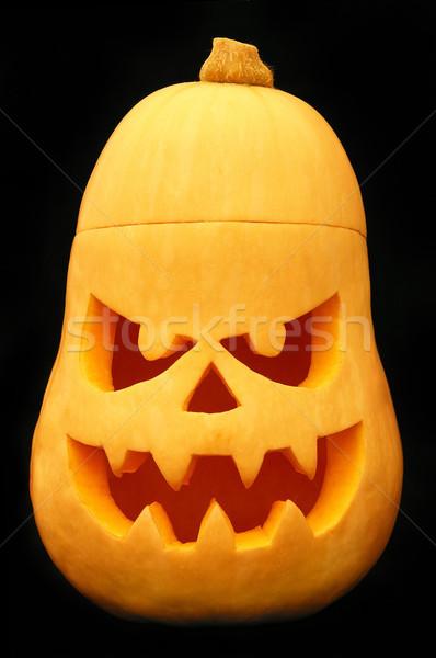 Halloween tök ünnep ünneplés ijesztő sütőtök Stock fotó © oorka