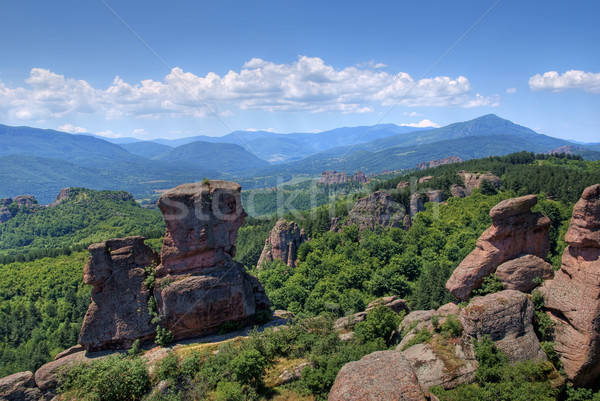 Bulgarie roches paysage montagne Rock panorama Photo stock © oorka