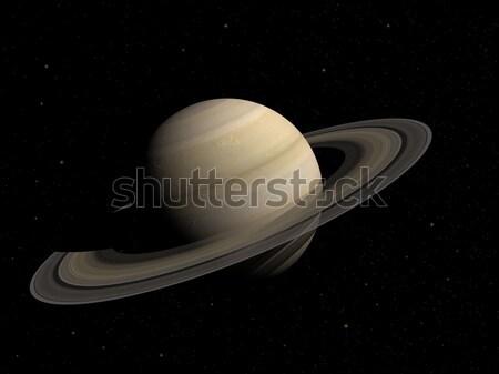 Saturn Stock photo © oorka