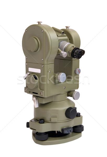 Instrumento preciso distancia medición horizontal vertical Foto stock © oorka